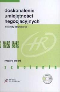 Doskonalenie umiejętności negocjacyjnych (teczka z testami + CD) - okładka książki