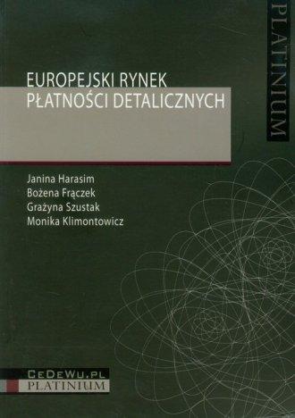 Europejski rynek płatności detalicznych - okładka książki
