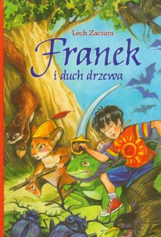 Franek i duch drzewa - okładka książki