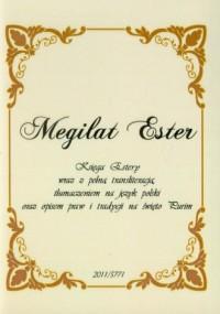 Megilat Ester. Księga Estery - okładka książki