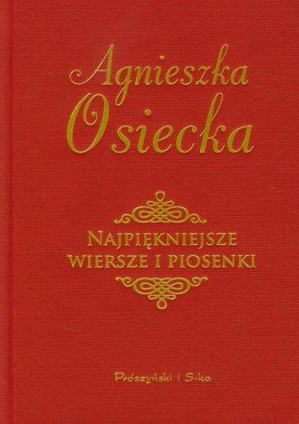 Najpiękniejsze wiersze i piosenki - okładka książki