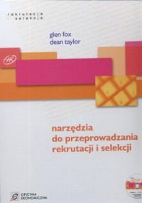 Narzędzia do przeprowadzania rekrutacji i selekcji (+ CD) - okładka książki