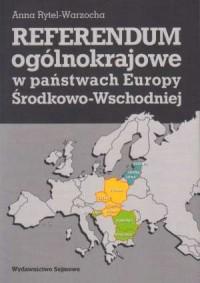 Referendum ogólnokrajowe w państwach - okładka książki