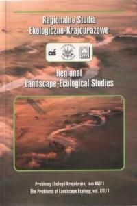 Regionalne Studia Ekologiczno-Krajobrazowe. Tom XVI/1 - okładka książki