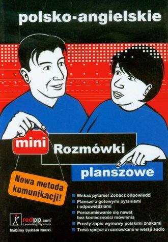 Rozmówki planszowe mini polsko-angielskie - okładka podręcznika