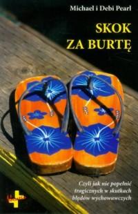 Skok za burtę - okładka książki