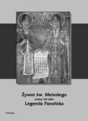 Żywot św. Metodego znany też jako - okładka książki
