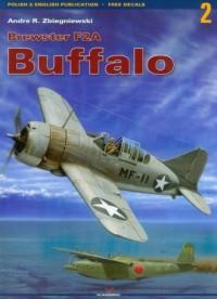 Brewster F2A Buffalo - okładka książki