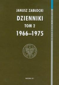 Dzienniki 1966-1975. Tom 2 - okładka książki