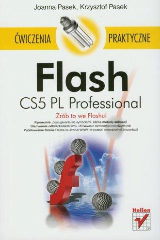 Flash CS5 PL Professional. Ćwiczenia - okładka książki