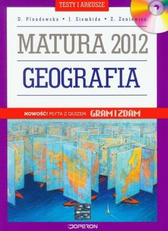 Geografia. Matura 2012. Testy i - okładka podręcznika