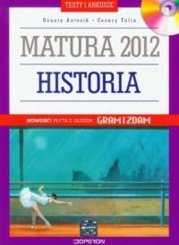 Historia. Matura 2012. Testy i - okładka podręcznika