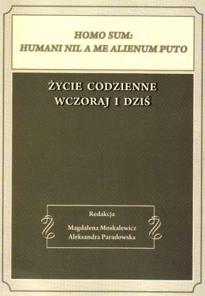 Homo sum: humani nil a me alienum - okładka książki