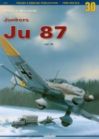 Junkers Ju 87 vol.3 - okładka książki