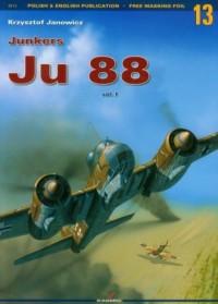 Junkers Ju 88 vol. 1 - okładka książki