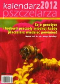 Kalendarz pszczelarza 2012 - okładka książki