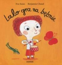 Lalo gra na bębnie - okładka książki