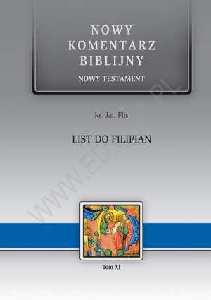 List do Filipian. Seria: Nowy komentarz - okładka książki