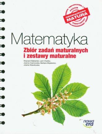 Matematyka. Zbiór zadań maturalnych - okładka podręcznika