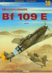 Messerschmitt Bf 109 E vol.II - okładka książki