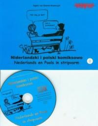 Niderlandzki i polski komiksowo (+ CD) - okładka książki