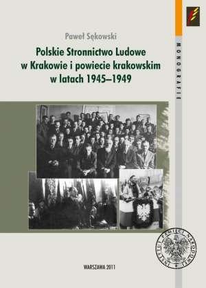 Polskie Stronnictwo Ludowe w Krakowie - okładka książki
