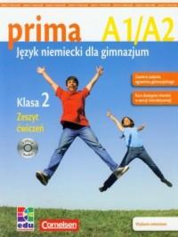 Prima 2. Zeszyt ćwiczeń (+ CD) - okładka podręcznika