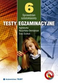 Sprawdzian szóstoklasisty. Testy egzaminacyjne - okładka podręcznika