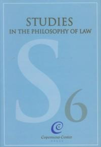 Studies In The Philosophy Of Law - okładka książki