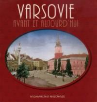 Warszawa dawniej i teraz (wersja fr.) - okładka książki