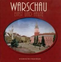 Warszawa dawniej i teraz (wersja niem.) - okładka książki