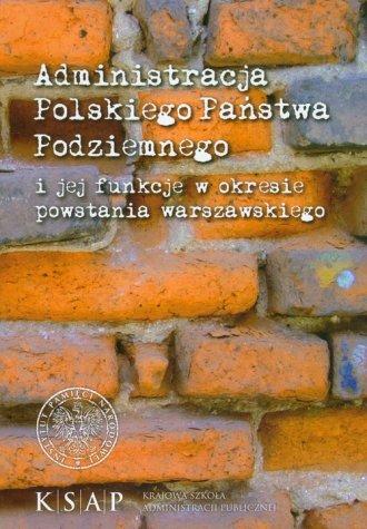 Administracja cywilna Polskiego - okładka książki