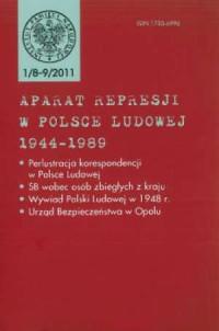 Aparat represji w Polsce Ludowej 1944-1989 nr 1(8-9)/2011 - okładka książki