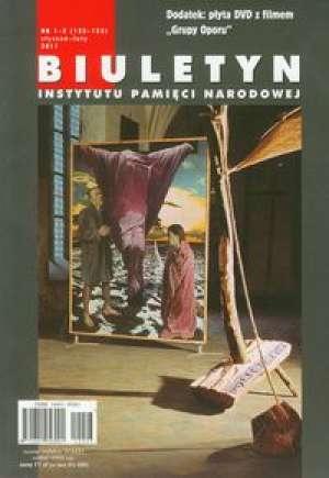 Biuletyn IPN 1-2/2011 z płytą DVD - okładka książki