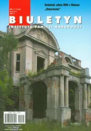 Biuletyn IPN 3/2011 z płytą DVD - okładka książki