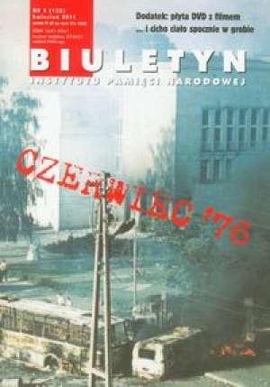 Biuletyn IPN 4/2011 z płytą DVD - okładka książki