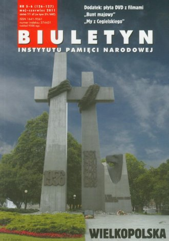 Biuletyn IPN 5-6/2011 z płytą DVD - okładka książki