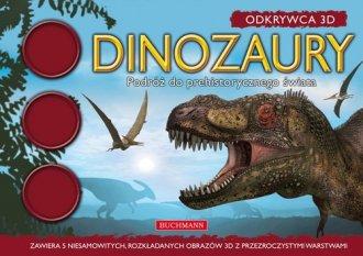 Dinozaury Podróż do prehistorycznego - okładka książki