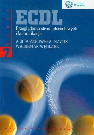 ECDL. Moduł 7. Przeglądanie stron - okładka książki