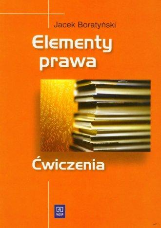 Elementy prawa. Ćwiczenia - okładka książki