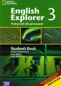 English Explorer 3. Student s Book. Podręcznik dla gimnazjum (+ CD) - okładka podręcznika