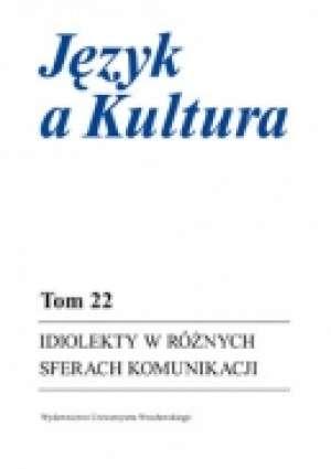 Idiolekty w różnych sferach komunikacji. - okładka książki
