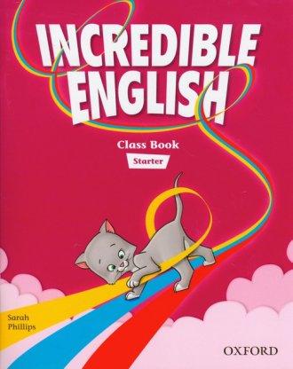 Incredible English Starter. Class - okładka podręcznika