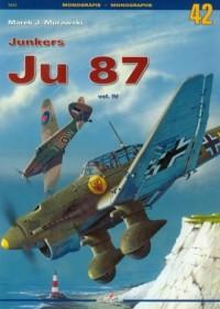 Junkers Ju 87 vol. 4 - okładka książki