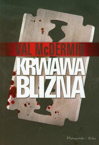 Krwawa blizna - okładka książki