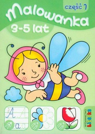 Malowanka 3-5 lat cz. 1 - okładka podręcznika