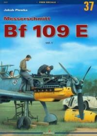 Messerschmitt Bf 109 E vol.I - okładka książki