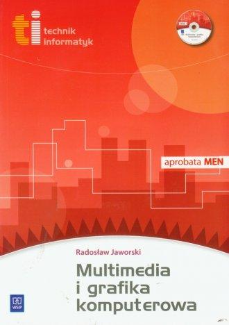 Multimedia i grafika komputerowa - okładka książki