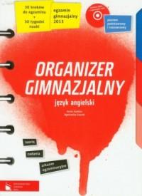 Organizer gimnazjalny. Język angielski (+ CD) - okładka podręcznika