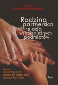 Rodzina partnerska jako relacja - okładka książki